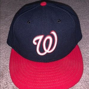 Washington Nationals Blue and Red Baseball hat